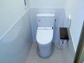 トイレリフォーム2階へのトイレ増設と内装リフォームで高齢でも住みやすい家